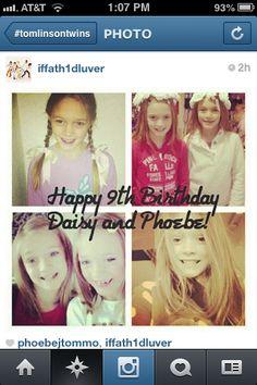 Happy 9th Birthday Phoebe && Dasie.