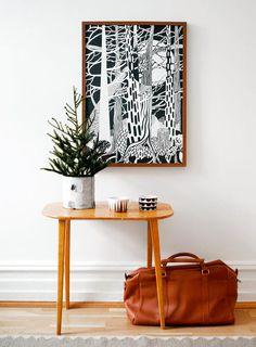 Schnelle Deko: Mit Poster und Drucken kahle Wände verschönern