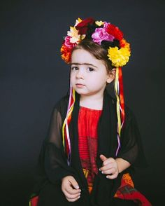 """""""Violet channeling Frida Kahlo for our #UVKHalloween15 photoshoot.  #sneakpeek #khalimacintyrephotography"""""""
