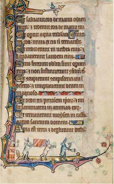 Macclesfield Psalter, c. 1330, Cambridge, Fitzwilliam Museum Ms. 1-2005.