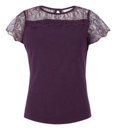 Black Lace Top £12.99
