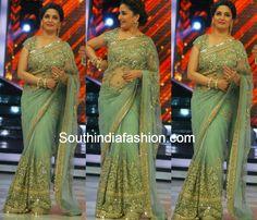 Madhuri Dixit in Sabyasachi Saree ~ Celebrity Sarees, Designer Sarees, Bridal Sarees, Latest Blouse Designs 2014