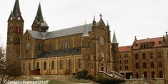 St. Meinrad Archabbey, School of Theology, and Seminary, in St. Meinrad, Indiana - littleindiana.com