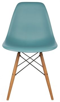 Two colours. Desk chairs  The Matt Blatt Replica Eames DSW Side Chair - Plastic main image