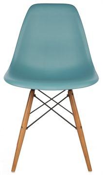 Two colours. Desk chairs The Matt Blatt Replica Eames DSW Side Chair - Plastic main image
