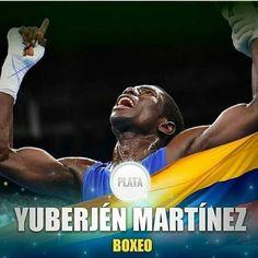 El boxeador #colombiano de 24 años #YuberjenMartínez ganó la #medalla de plata en la categoría de 49 kilos del boxeo en los Juegos #Olímpicos de #Rio2016. La victoria de Martínez es histórica para #Colombia pues es la primera medalla de plata que gana el país en #boxeo olímpico. #ThatsColombian