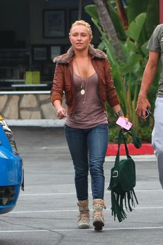 Hayden Panettiere's leather jacket yes.