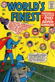 Cover for World's Finest Comics (1941 series) #150