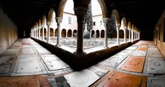 Courtyard of Chiesa di San Francesco della Vigna #Venice #Venezia #TombstoneWalkways