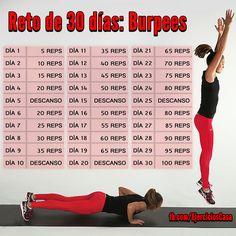 Atrévete con este reto de 30 días del ejercicio más efectivo para adelgazar, los burpees