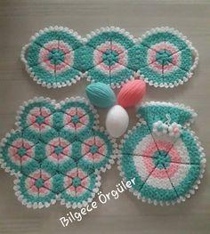 Diy Crochet, Crochet Doilies, Hand Crochet, Tragus, Crochet Designs, Crochet Patterns, Crochet Sunflower, Rainbow Crochet, African Flowers