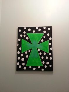 Canvas painting - Cross
