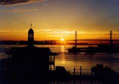 Sunrise, Port of Yokohama