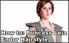 FAQ Friday: Princess Leia Hairstyles – Rebel/Endor Braids @ kelldar.com