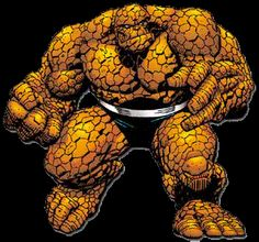 The Thing Fantastic Four   So to be honest right off of the bat, when I first saw The Thing ...