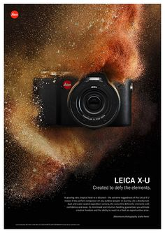 Leica X-U. Created to defy the elements. #Leica #XU #Waterproof #Camera #Photography #Madeingermany