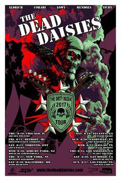 Dead Daisies Tour by Flynn Prejean of BadMoon Studios
