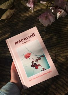 note to self by Connor Franta.  i got the book yesterday and i'm so happy!
