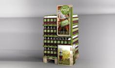 Coca-cola Life launch - BI&BI Advertising #display #retail #design  #popmaterials #instore #brandidentity #posmaterials #popvisibility #posvisibility #pointofpurchase #pointofsale #productdisplay #instoremarketing #trademarketing #cocacola #coke Coca Cola Life, Point Of Purchase, Display Design, Retail Design, Coke, Wine Rack, Advertising, Product Launch, Inspiration