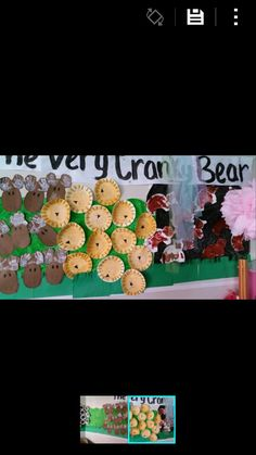 The very cranky bear craft