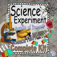 This is a bundle of 3 science experiments for your science fair! These are complete science fair projects, including printables for your tri-fold, photos of the materials in the science projects, and possible student hypotheses. Just print out, add your class name, children?s quotes and pictures (if you?d like), and glue each experiment onto a tri-fold.