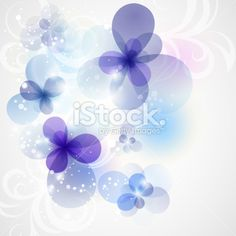 Abstract floral background. Royalty Free Stock Vector Art Illustration