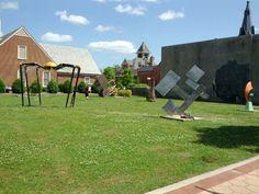 Outdoor Art Park in New Bern, NC