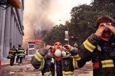 Jeff Mermelstein, Firemen with Tears, from Ground Zero, September 11, 2001 Jeff Mermelstein, Statue, from Ground Zero, September 11, 2001 Jeff Mermelstein, Blinds, from Ground Zero, September 11, 2…
