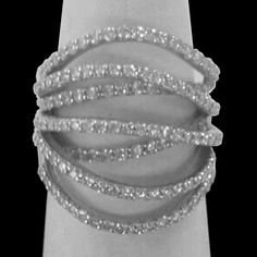14K-White-Gold-Diamond-By-Pass-Swirl-Ring-1-3-Carattw-Approx