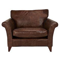 Buy John Lewis Charlotte Leather Snuggler, Rialto Bruno Online at johnlewis.com