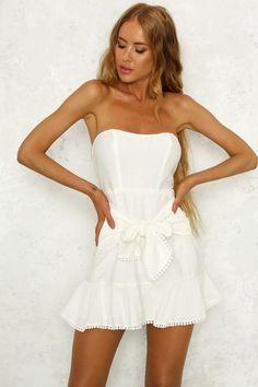 Kayla Dress White. Hello Molly ... ececa5b78