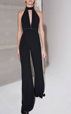 1282063c06d Dawn V Neck Jumpsuit by ALEXIS for Preorder on Moda Operandi Runway  Fashion