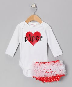 Piper!!! My mom so would have had me wear this as a baby!!