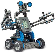 The VEX IQ Robotics Construction Kit is loaded with advanced robotics technology, including a brain with 12 self-configuring input/output ports, as well as Vex Robotics, Advanced Robotics, Robotics Club, Drones, Programmable Robot, Educational Robots, Stem Skills, Robot Kits, Arduino Projects
