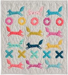 Sew up the Baby Fox Quilt Pattern from Connecting Threads. Download it now!