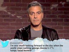 #georgeclooney #meantweet