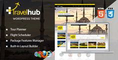 Travelhub - WordPress Travel Theme for Agencies . Travelhub has features such as High Resolution: No, Widget Ready: Yes, Compatible Browsers: IE10, IE11, Firefox, Safari, Opera, Chrome, Compatible With: Visual Composer 4.7.4, Software Version: WordPress 4.5.x, WordPress 4.5.2, WordPress 4.5.1, WordPress 4.5, Columns: 4+