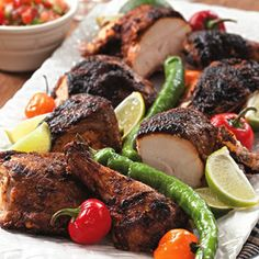 Butterflied grilled chicken with chile-lime rub