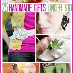 25 Handmade Gifts Under $10