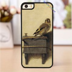 carel fabritius the goldfinch 1654 phone cover case for iphone 4 4s 5 5s 5c SE 6 6s & 6 plus 6s plus &TO3365 Digital Guru Shop  Check it out here---> http://digitalgurushop.com/products/carel-fabritius-the-goldfinch-1654-phone-cover-case-for-iphone-4-4s-5-5s-5c-se-6-6s-6-plus-6s-plus-to3365/