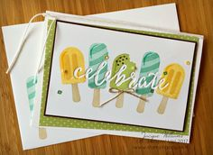 Stampin' Up! Cool Treats & Celebrations Duo TIEF