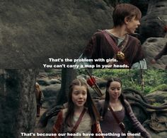 The problem with girls… love me some Narnia