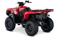 New 2017 Suzuki KINGQUAD 750AXI ATVs For Sale in Oklahoma. In 1983, Suzuki introduced the world's first 4-wheel ATV. Today, Suzuki ATVs are everywhere. From the most remote areas to the most everyday tasks, you'll find the KingQuad powering a rider onward. Across the board, our KingQuad lineup is a dominating group of ATVs. Taking advantage of Suzuki's three-decades-plus experience with four-wheelers, the 2017 Suzuki KingQuad 750AXi is designed for phenomenal performance on the trail or on…