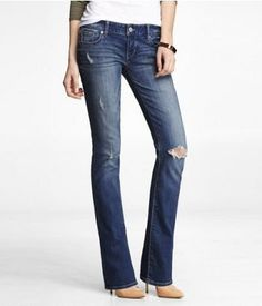 Barely boot cut Rerock jeans by Express | Fashion | Pinterest ...