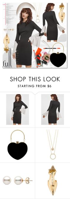 """""""Blac and White dress"""" by ilona-828 ❤ liked on Polyvore featuring Kate Spade, Dolce&Gabbana, dress, romwe and polyvoreeditorial"""