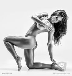 Michelle Lewin is a fitness competitor and cover mode