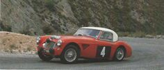 Austin Healey 3000. Pat Moss and Pauline Mayman On Their Way To A Third Place Finish In The 1962 Alpine Rally