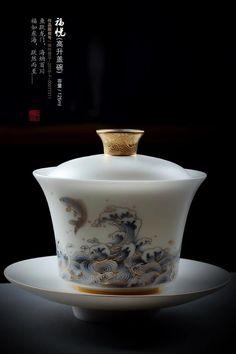 Chinese Tea Room, Chinese Tea Cups, Traditional Teapots, Tea Pot Set, Tea Sets, Tea Culture, Ceramic Tableware, Teapots And Cups, Tea Bowls