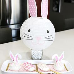 These no bake bunny buns and egg spoon cakes from @soiree_event_design are just to cute and perfect for Easter! 🐰💗🐰Click the link to get the steps and supplies. #easterideas #easterdesserts #nobake #orientaltrading