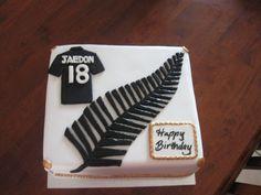 NZ Fern cake